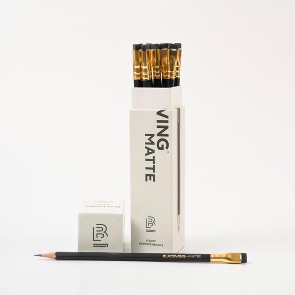 Blackwing Matte Pencils (Soft Graphite) Box of 12