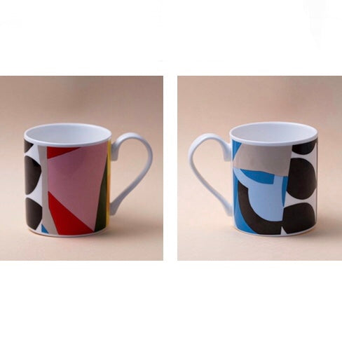 Colourful Bone China Mug 1 by Coco Chocolatier