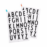 Typography Tea Towel Set - Indish Design Shop  - 2