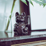 Glossy Black Lucky Waving Cat Egypt Limited Edition