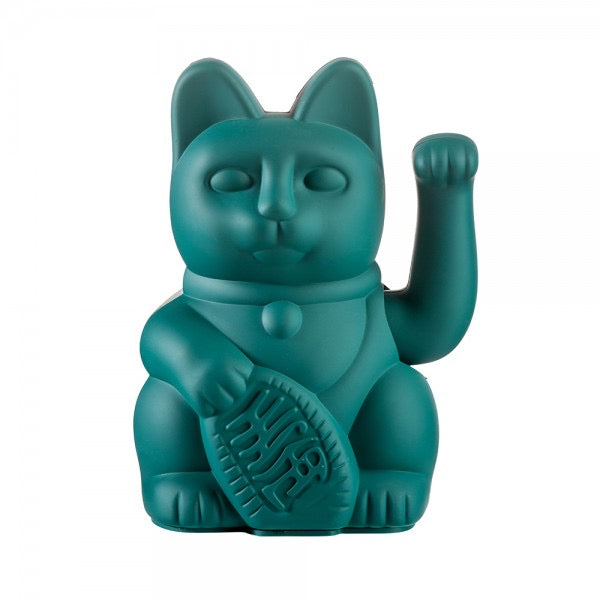 Lucky Waving Cat in green