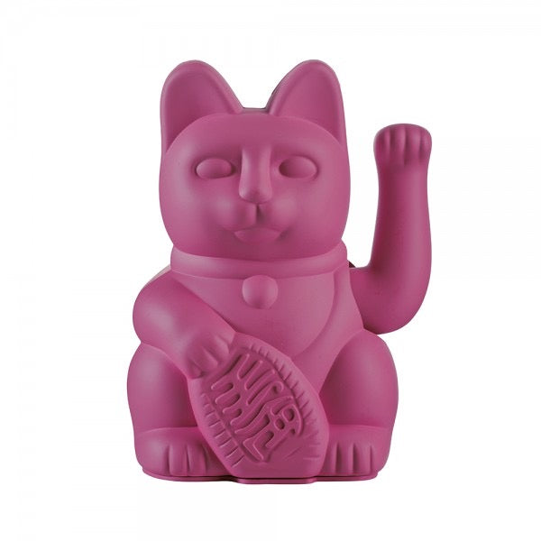 Lucky Waving Cat in purple
