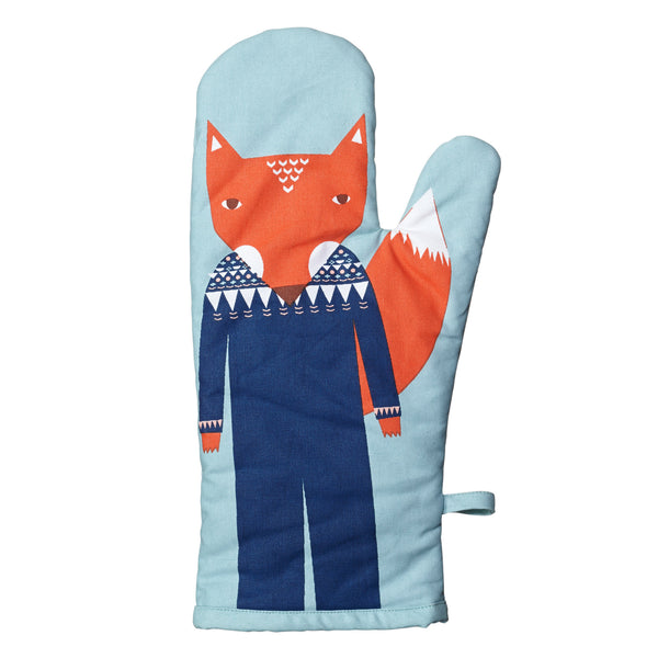 Fox Oven Mitt - Indish Design Shop