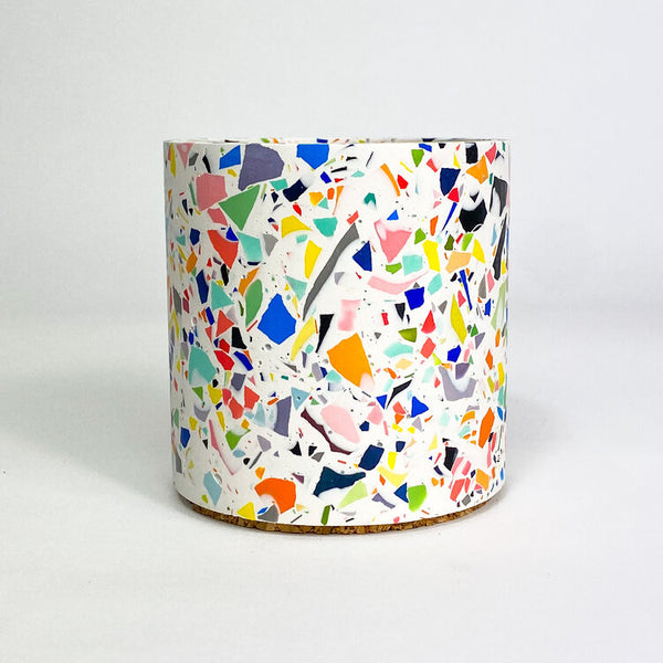 Jesmonite Terrazzo Pot Pop by Emily Marlin