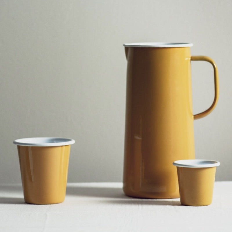 Falcon Enamelware in mustard yellow