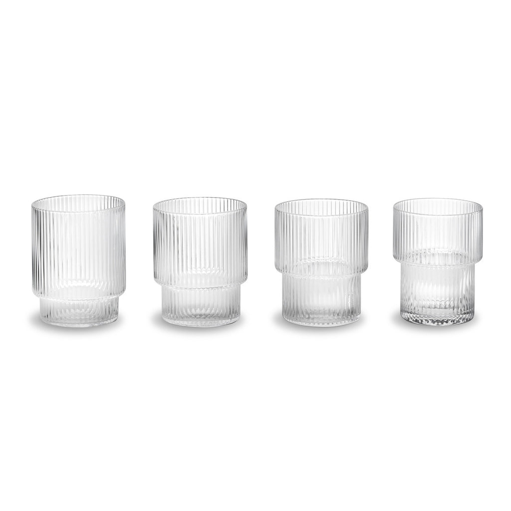Ripple Glasses Set of 4 - indish-design-shop-2