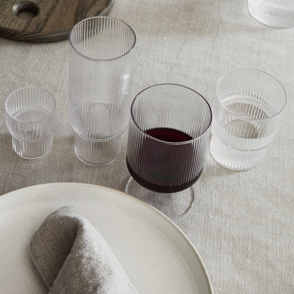 Ripple Small Glasses Set of 4 - indish-design-shop-2