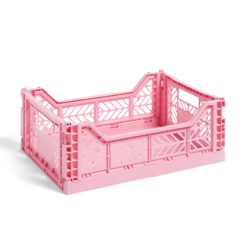 Hay medium sized Colour Crate in pink