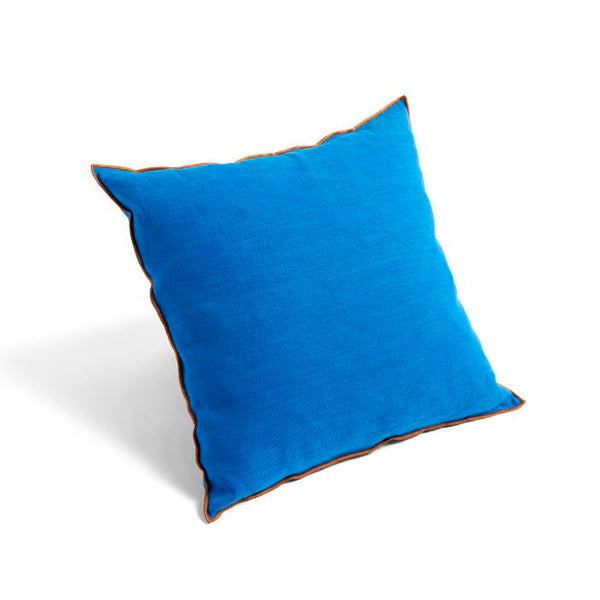 HAY outline cushion 50 x 50cm in viviid blue