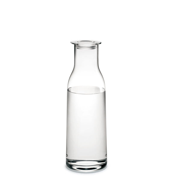 Minima Glass Bottle Carafe With Lid 90cl