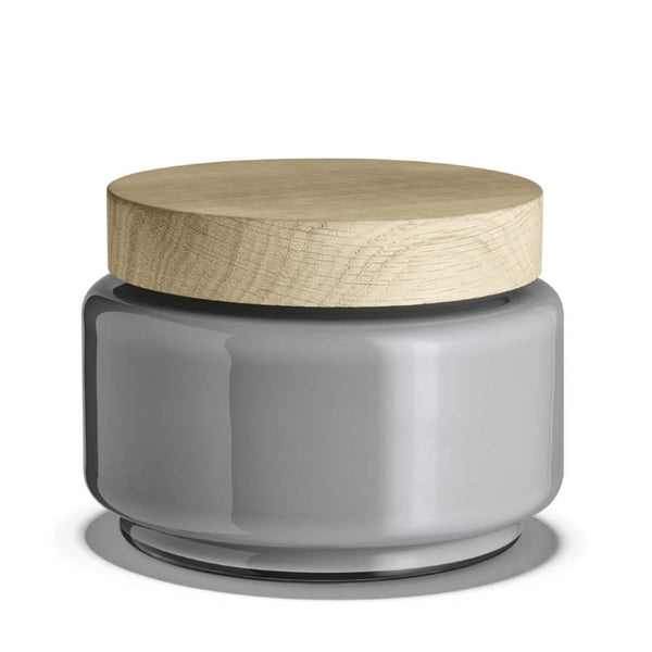 Palet Storage Jar Light Grey 1.2L