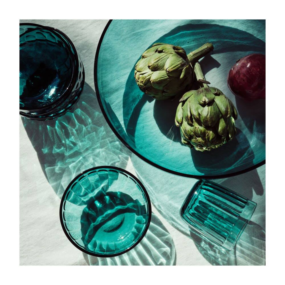 Raami glass products designed by Jasper Morrison for iittala