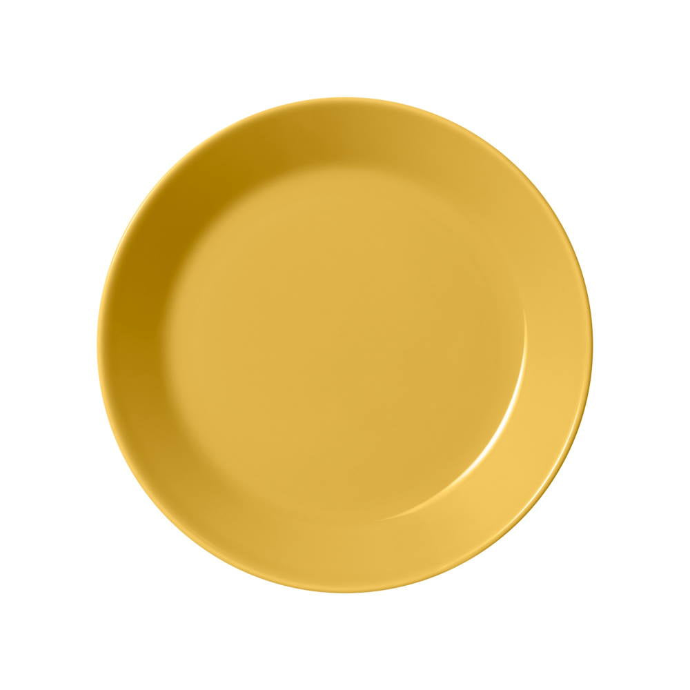 iittala porcelain Teema bowl in honey yellow