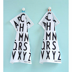 Typography Tea Towel Set - Indish Design Shop  - 1