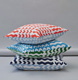 Lucknow Cushion Navy - Indish Design Shop  - 3