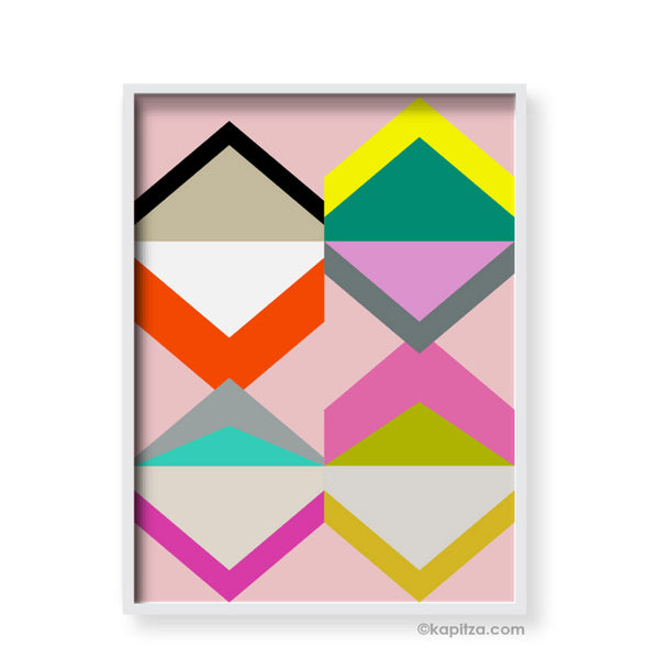 Geometric Print - Indish Design Shop  - 1
