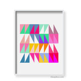 Geometric Print - Indish Design Shop  - 4