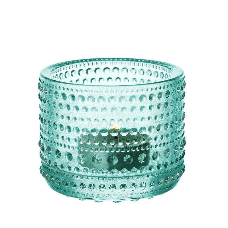 Kastehelmi Water Green Glass Votive