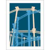 Kings Cross Gasholder Print - indish-design-shop-2