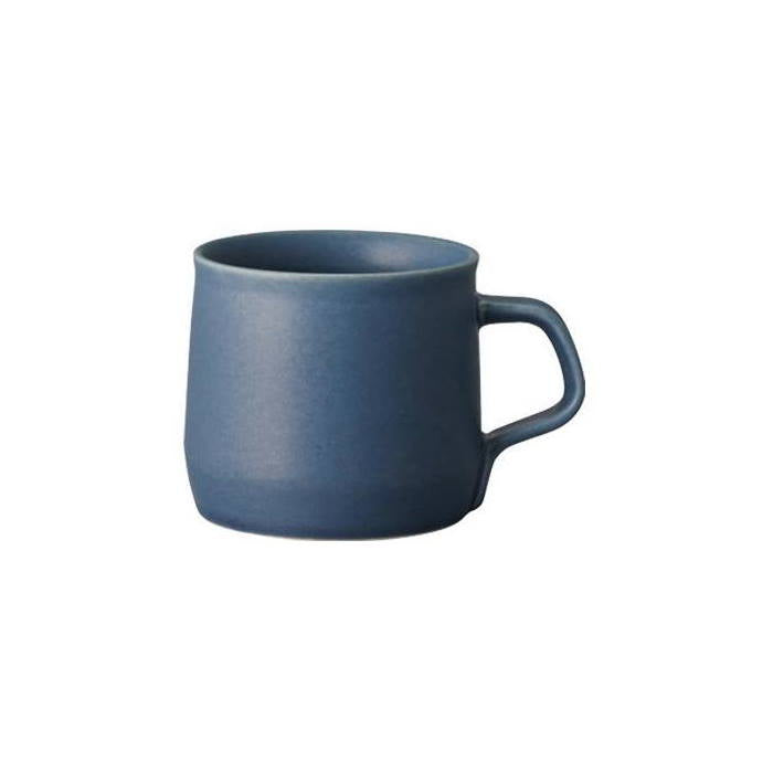 Blue porcelain mug