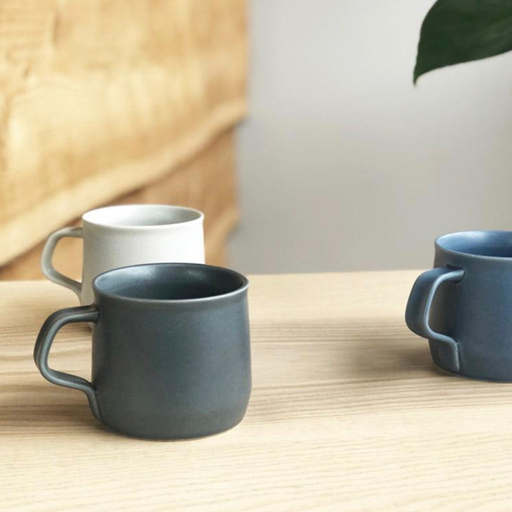 Kinto Fog porcelain mugs by Kinto