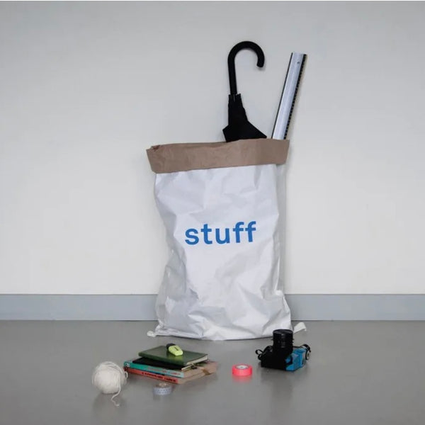 Kolor paper storage bag Stuff in blue