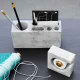 Concrete Desk Tidy