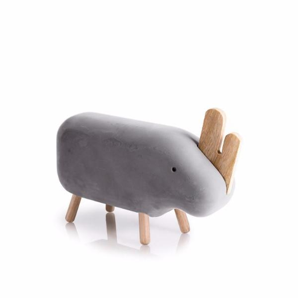 Concrete Rhino - indish-design-shop-2