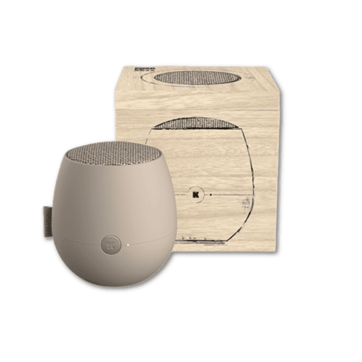 Kreafunk aJAZZ Bluetooth Speaker in sand