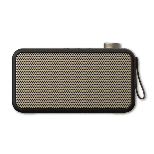 Black aTUNE DAB+ Radio & Bluetooth Speaker by Kreafunk