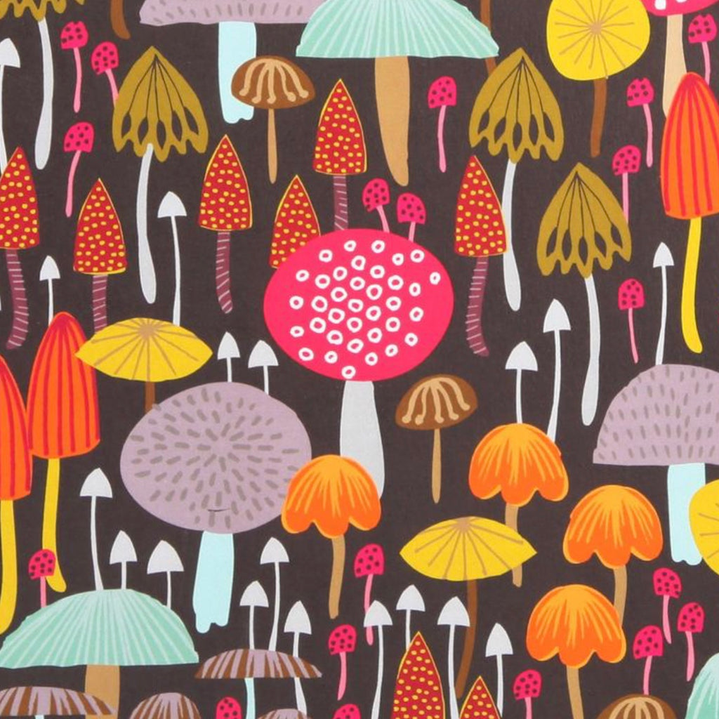 Toadstools A4 Giclee Print by Maggie Magoo