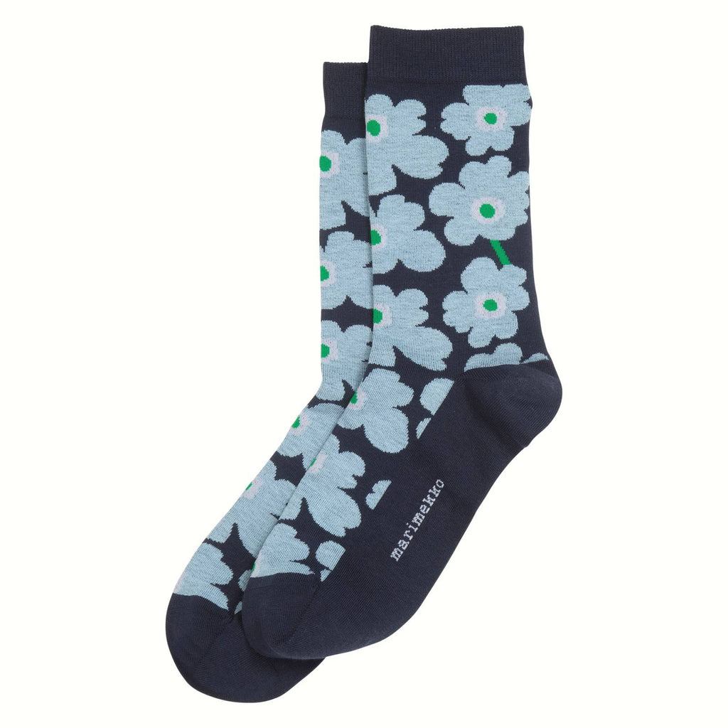 Womens Hieta Unikko Ankle Socks - indish-design-shop-2