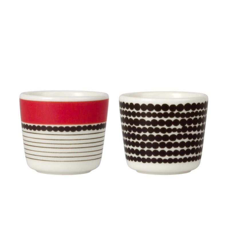Siirtolapuutarha Räsymatto Egg Cups 2 pcs - indish-design-shop-2