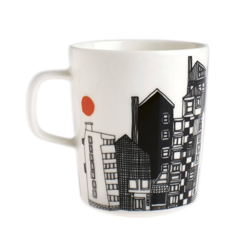 Siirtolapuutarha City Garden Mug 2.5dl - indish-design-shop-2