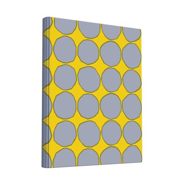 Large Cloth Covered Notebook - indish-design-shop-2