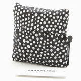 Marimekko smart shopping bag in black and white dots