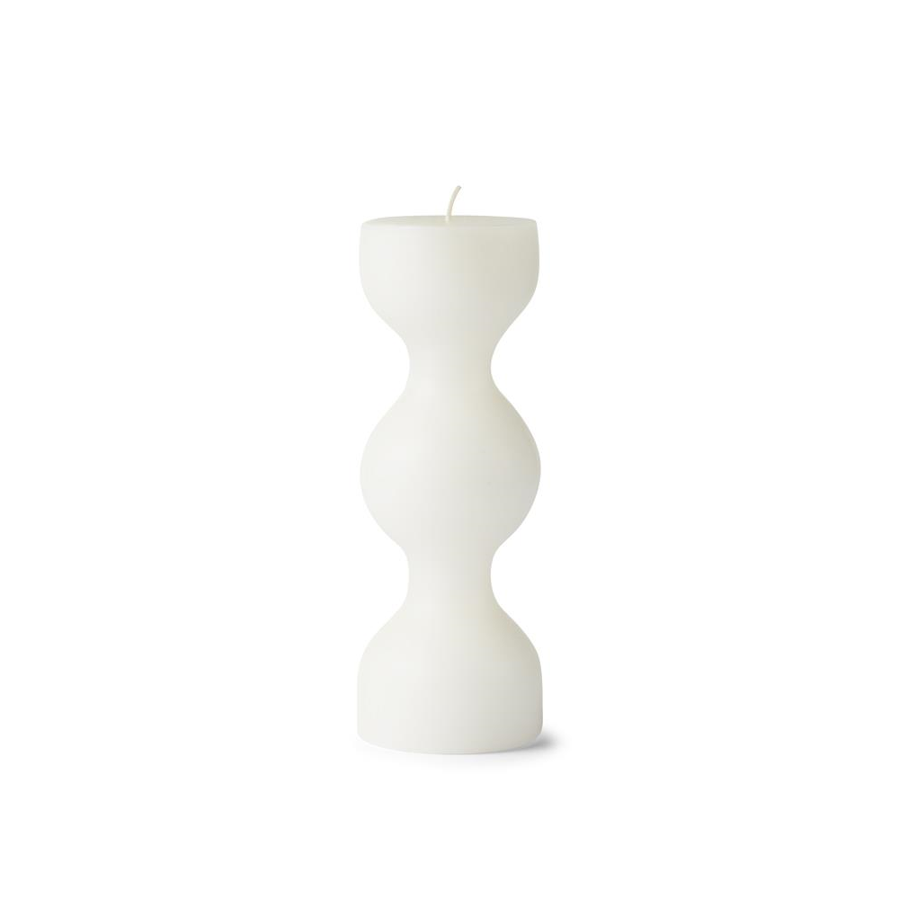White Block Candle Phare from Tivoli by Normann Copenhagen