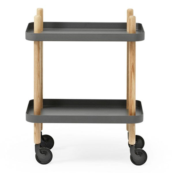 Block Table Trolley - Indish Design Shop  - 1