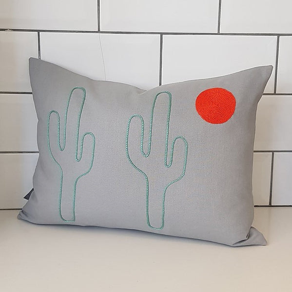 Saguaro Moon Cushion 30x40cm