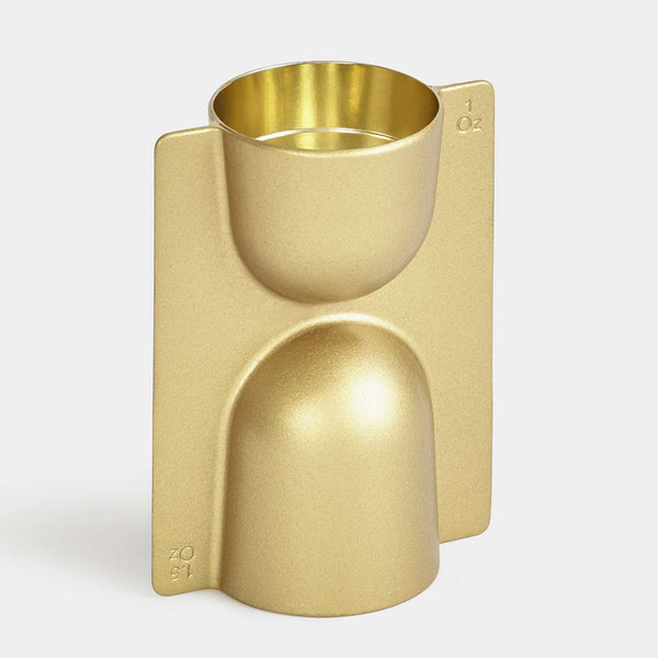 Trophy Jigger Brass - indish-design-shop-2