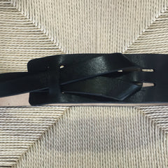 Luxe Leather Black Multiway Belt