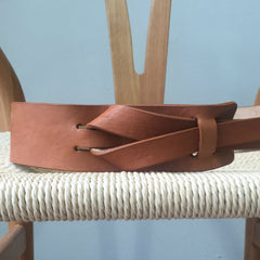 Luxe Leather Brown Multiway Belt