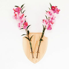 Eco Deer Natural Wall Vase