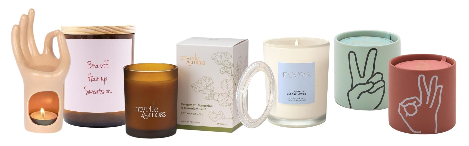 More Homing Instincts candles