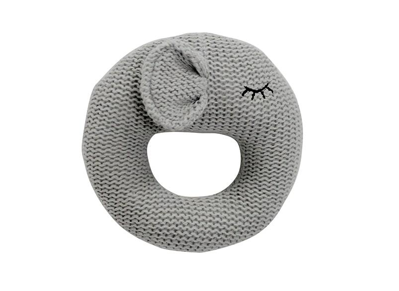 Annabel Trends | Knitted Ring Rattle Elephant - Homing Instincts