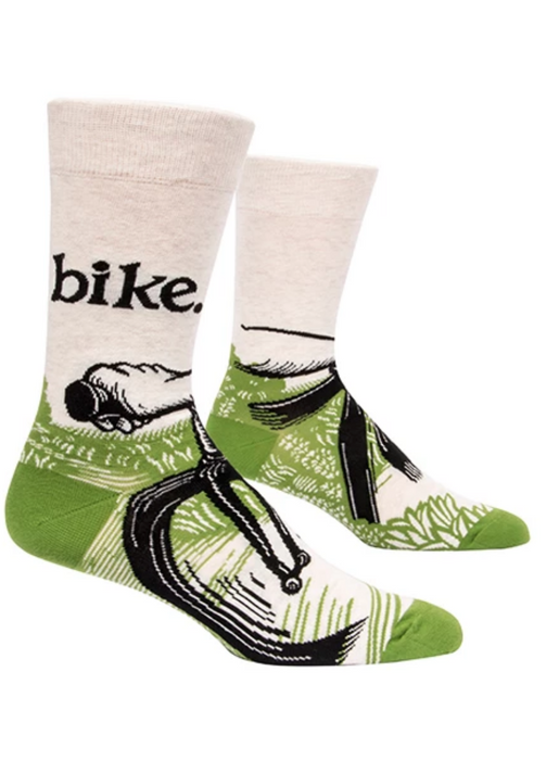 Blue Q | Bike Path Socks-Blue Q-Homing Instincts