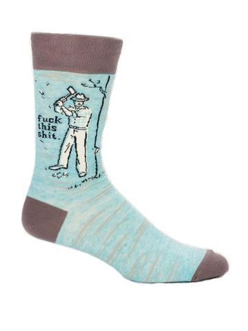 Blue Q | F**k This Shit Socks-Blue Q-Homing Instincts
