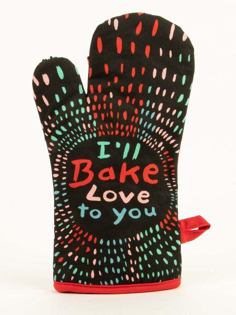 Blue Q | I'll Bake Love To You Oven Mitt-Homing Instincts