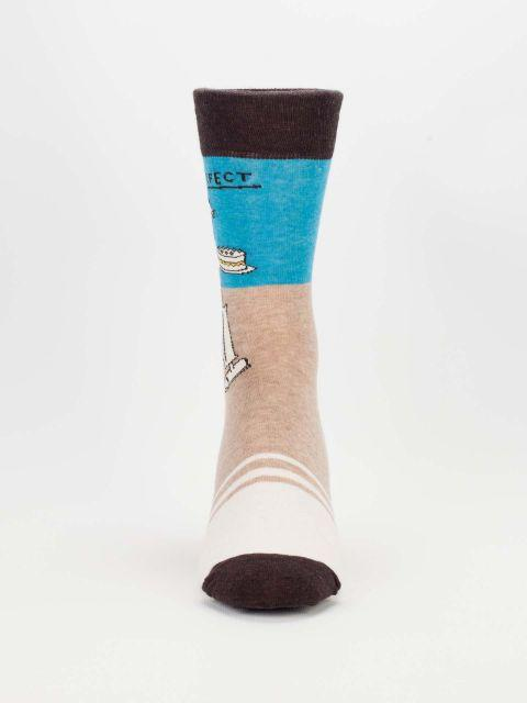 Blue Q | Mr Perfect Socks-Blue Q-Homing Instincts