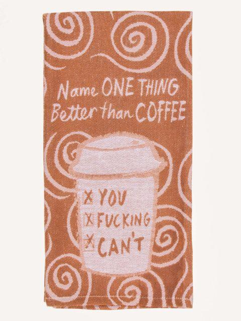 Blue Q | Name One Thing Better Than Coffee Tea Towel-Blue Q-Homing Instincts